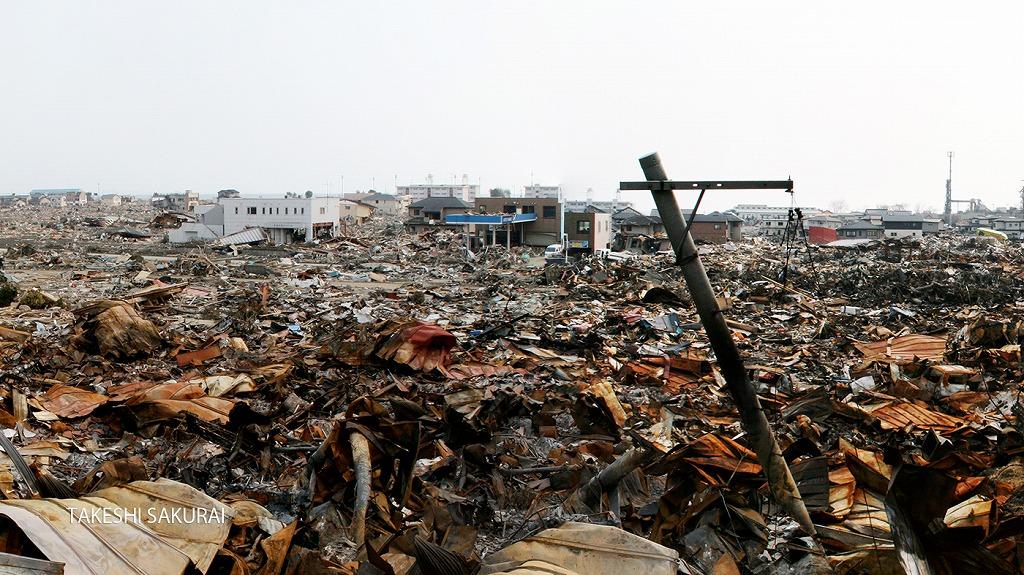 311津波による南浜被害